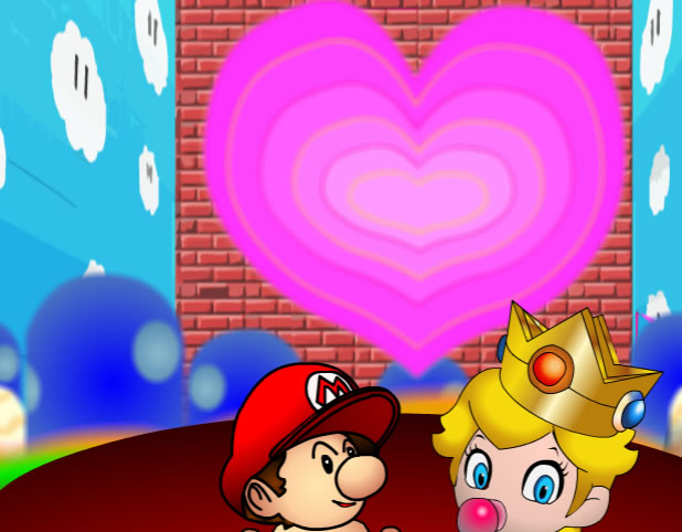 Mario lost in peach online j�t�k